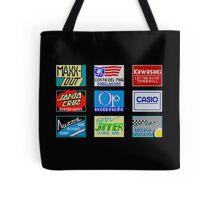 CALIFORNIA GAMES SPONSORS - MASTER SYSTEM  Tote Bag
