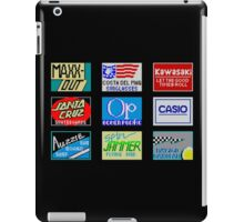 CALIFORNIA GAMES SPONSORS - MASTER SYSTEM  iPad Case/Skin