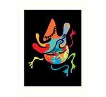 yoga peace Art Print
