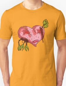 wounded heart Unisex T-Shirt