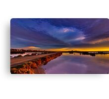 """Tempestuous Avalon Dawn"" Canvas Print"