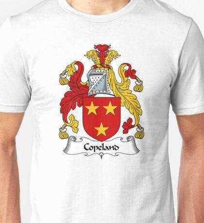 Copeland Coat of Arms / Copeland Family Crest Unisex T-Shirt
