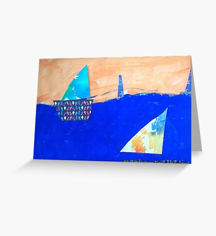 Let's Set Sail - by Colin Greeting Card