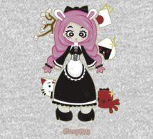 Cosplay Girl by Lolita Tequila Kids Tee