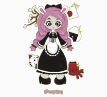 Cosplay Girl by Lolita Tequila Kids Tee