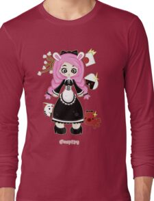 Cosplay Girl by Lolita Tequila Long Sleeve T-Shirt