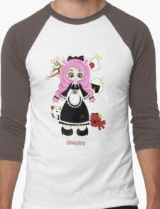 Cosplay Girl by Lolita Tequila Men's Baseball ¾ T-Shirt
