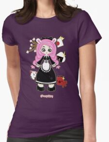 Cosplay Girl by Lolita Tequila Womens Fitted T-Shirt