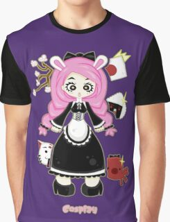 Cosplay Girl by Lolita Tequila Graphic T-Shirt