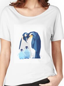 Emperor penguin family Women's Relaxed Fit T-Shirt