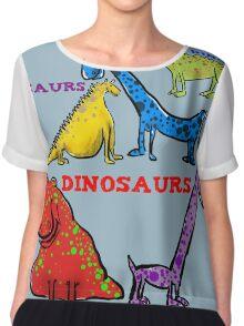 Dinosaurs  Chiffon Top