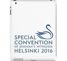 Finland Special Convention 2016 iPad Case/Skin