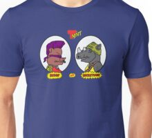 BEBOP AND ROCKSTEADY MTV BEAVIS AND BUTTHEAD STYLE Unisex T-Shirt