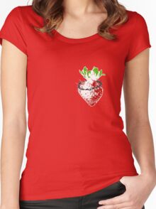 strawberry passions Women's Fitted Scoop T-Shirt