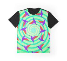 Whirlwind of Hummingbirds Graphic T-Shirt