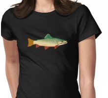 Trout Womens Fitted T-Shirt