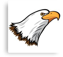 Bald Eagle Mascot Canvas Print