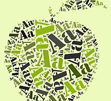 A is for Apple by katshe