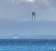 Bridging the mist ! by Nancy Richard
