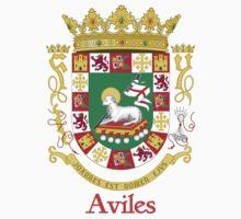 Aviles Shield of Puerto Rico Kids Tee