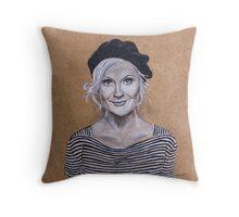 Amy Poehler Throw Pillow