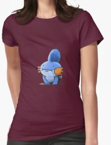 Mudkip: Such Kawaii Womens Fitted T-Shirt