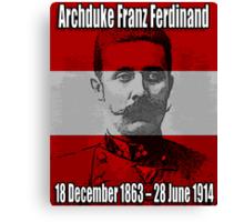 Archduke Franz Ferdinand of Austria (1863-1914) Canvas Print