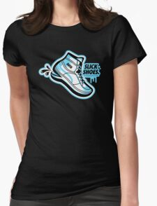Slick Shoes Womens Fitted T-Shirt