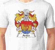 Aviles Coat of Arms/Family Crest Unisex T-Shirt