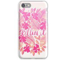 Killin' It – Pink Ombré iPhone Case/Skin