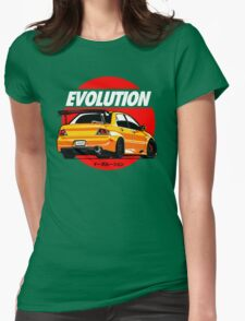 LANCER EVOLUTION VIII Womens Fitted T-Shirt