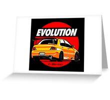 LANCER EVOLUTION VIII Greeting Card