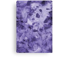 Ink watercolor texture Canvas Print