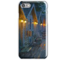 Rainy Night Motel  iPhone Case/Skin