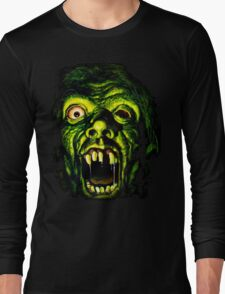 Horror Hotel Zombie - For Black Only Long Sleeve T-Shirt
