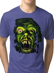 Horror Hotel Zombie - For Black Only Tri-blend T-Shirt