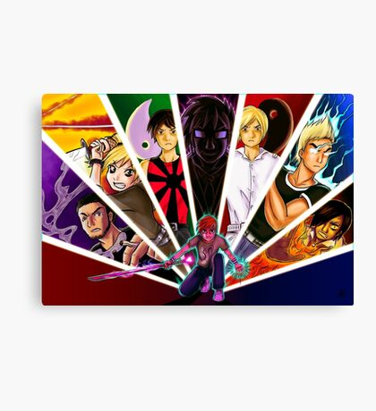 Wrath of the Evil Exes Canvas Print