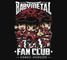 BabyMetal Fan Club (Chibi) Kids Tee