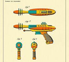 Disintegrator Pistol (1953) by JazzberryBlue