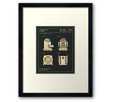Robot (1987) Framed Print
