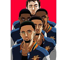 Warriors Photographic Print