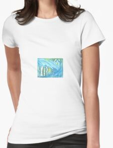 Midwinter Sun Womens Fitted T-Shirt