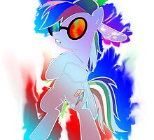 Rainbow Dash PON3 Design by Sorage55