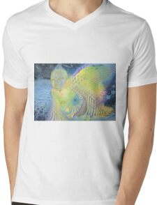Spirit of molecule Mens V-Neck T-Shirt