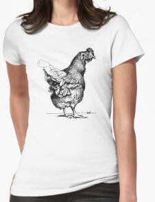 A chook called Travis Womens Fitted T-Shirt