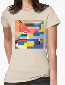 Modernity Squared Womens Fitted T-Shirt