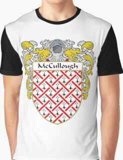 McCullough Coat of Arms/Family Crest Graphic T-Shirt