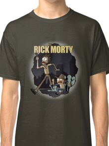 Rick and Morty/ The Walking Dead crossover Classic T-Shirt