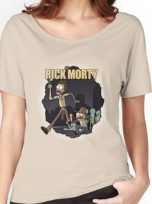 Rick and Morty/ The Walking Dead crossover Women's Relaxed Fit T-Shirt
