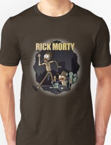 Rick and Morty/ The Walking Dead crossover Unisex T-Shirt